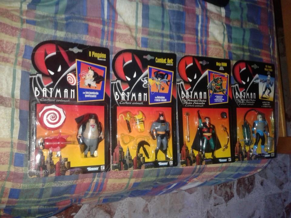 Batman la serie animata collezione giocattoli